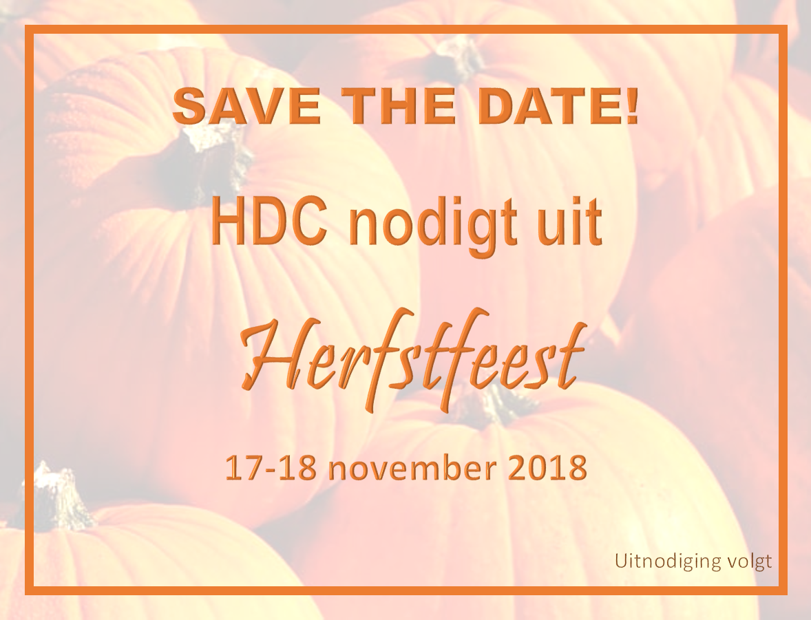 Save the date - Herfstfeest!